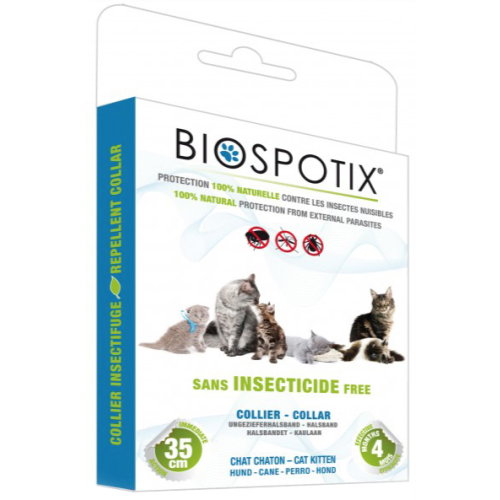 Biospotix Natural Cat Collar Flea Repellent