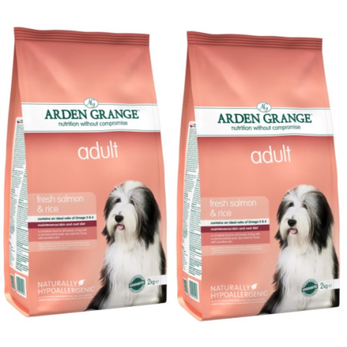 Arden Grange Salmon & Rice Adult Dog Food