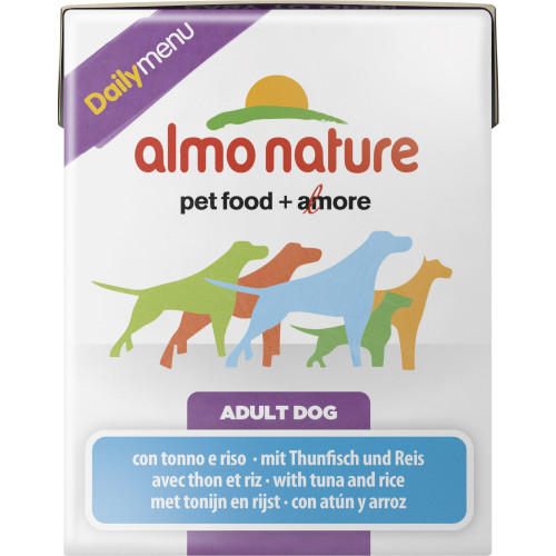 Almo Nature Daily Menu Tuna & Rice Adult Dog Food