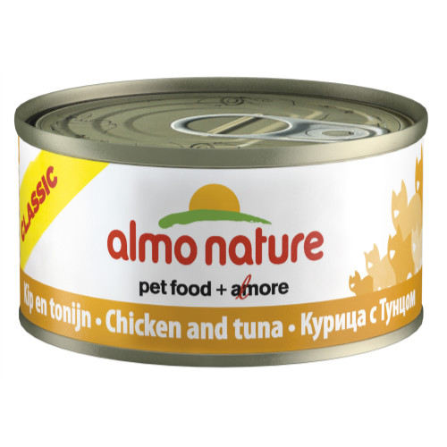 Almo Nature Classic Tins Tuna Cat Food
