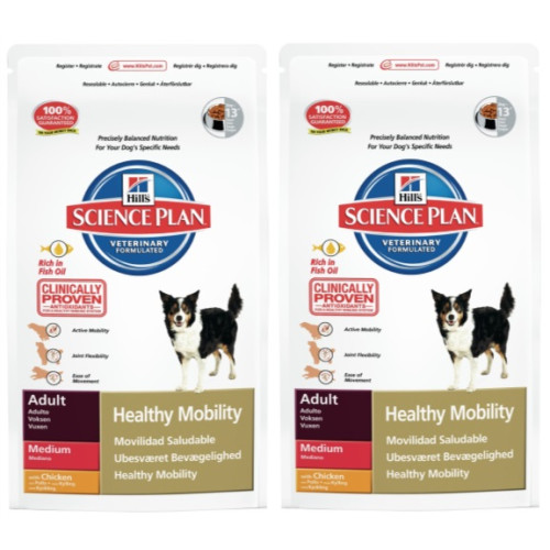 Hills Science Plan Canine Adult Healthy Mobility Medium Chicken