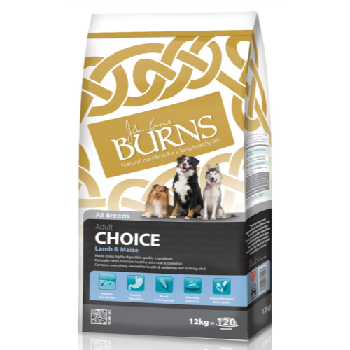 Burns Adult Lamb & Maize 12kg