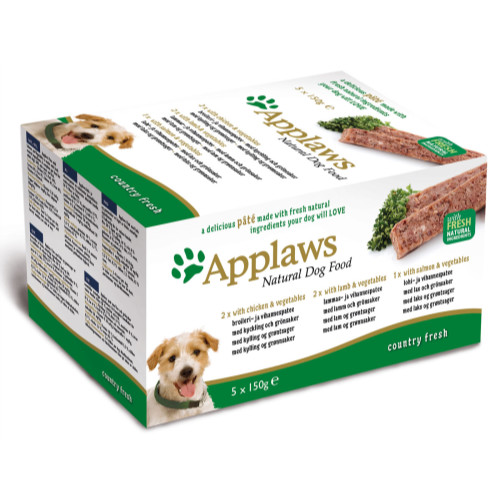 Applaws Pate Country Fresh Multipack Adult Dog Food