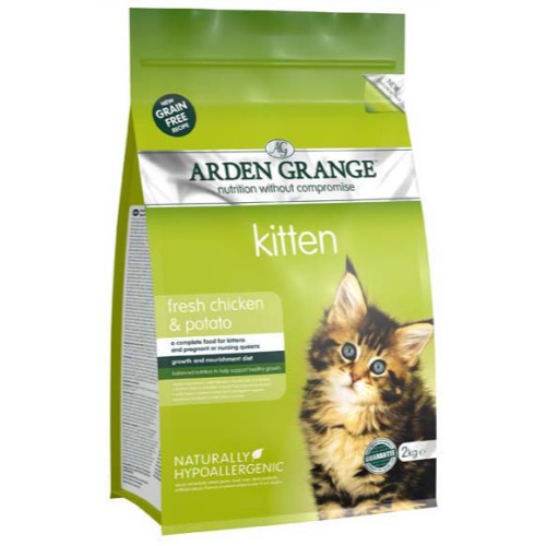Arden Grange Chicken & Potato Kitten Food