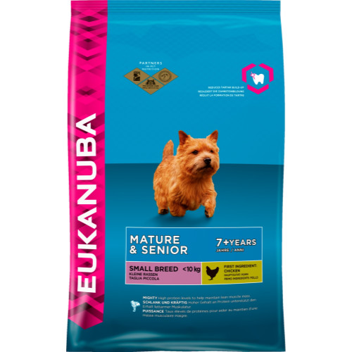Eukanuba Chicken Small Breed Senior & Mature Dog Food