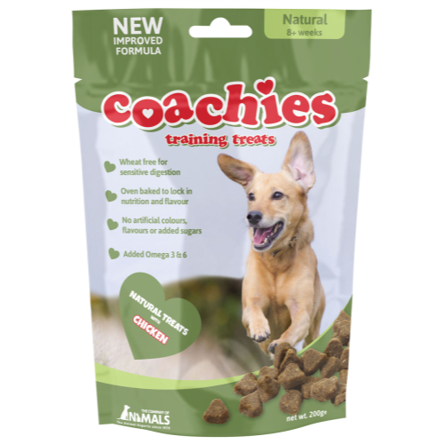 Coachies Dog Training Treats 200g - Natural