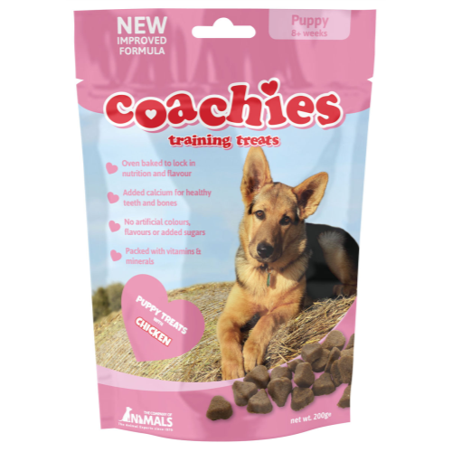 Coachies Dog Training Treats 200g - Puppy