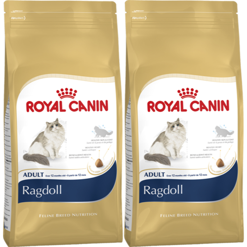 Royal Canin Breed Nutrition Ragdoll Adult Cat Food 10kg x 2