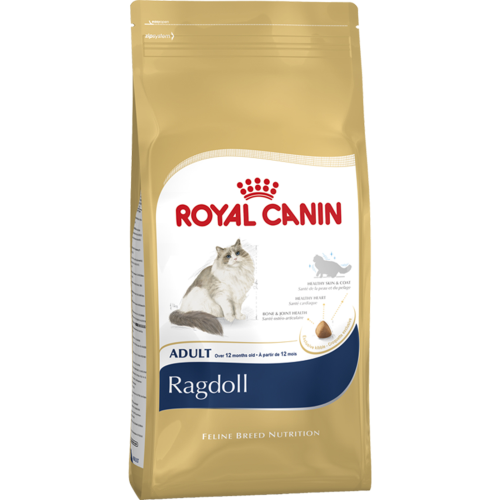 Royal Canin Breed Nutrition Ragdoll Adult Cat Food 10kg