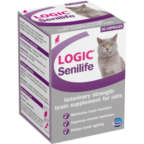 Logic Senilife Senior Cat Supplement
