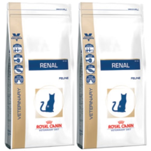 Royal Canin Veterinary Diets Renal RF 23 Cat Food 4kg x 2