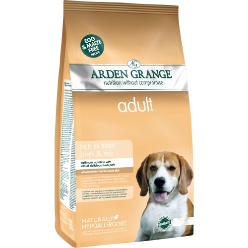 Arden Grange Rich in Fresh Pork & Rice Adult Dog Food 6kg