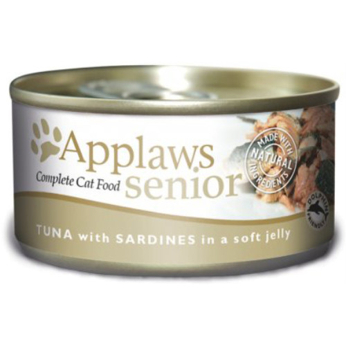 Applaws Tuna & Sardine in Jelly Can Senior Cat Food