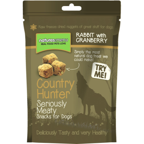 Natures Menu Country Hunter Freeze Dried Dog Treats