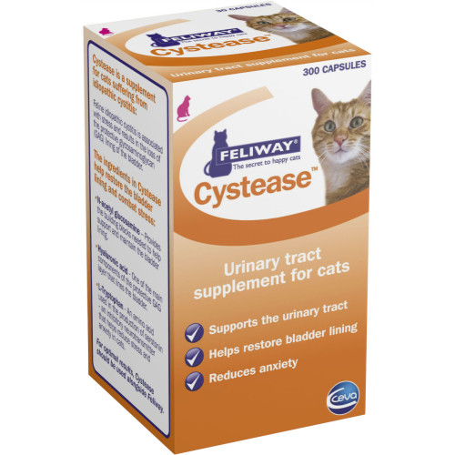 Feliway Cystease Cat Urinary Supplement