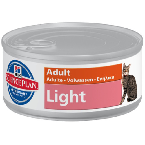 Hills Science Plan Feline Adult Chicken Light Canned