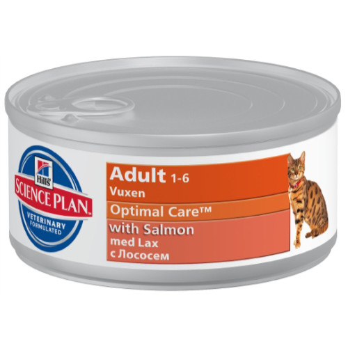 Hills Science Plan Feline Adult Salmon Canned