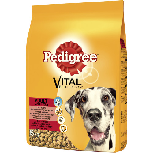 Pedigree Complete Vital Protection Beef Large Dog Food