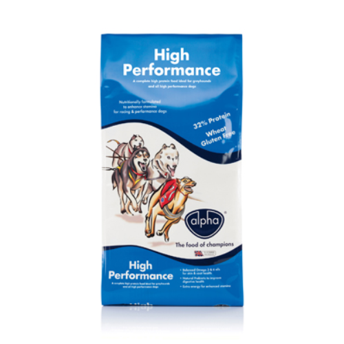 Alpha High Performance Dog Food 15kg x 2