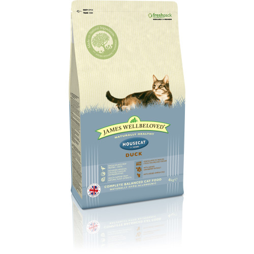 James Wellbeloved Housecat Duck Adult Cat Food