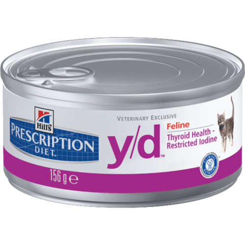 Hills Prescription Diet YD Feline Adult Cat Food Wet Tin