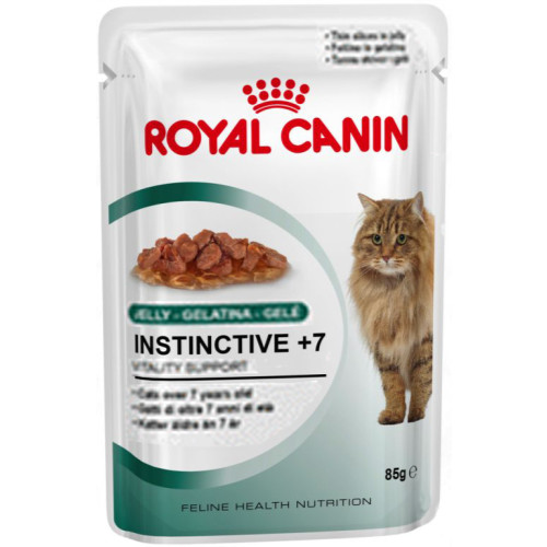 Royal Canin Health Nutrition Instinctive +7 Jelly Cat Food