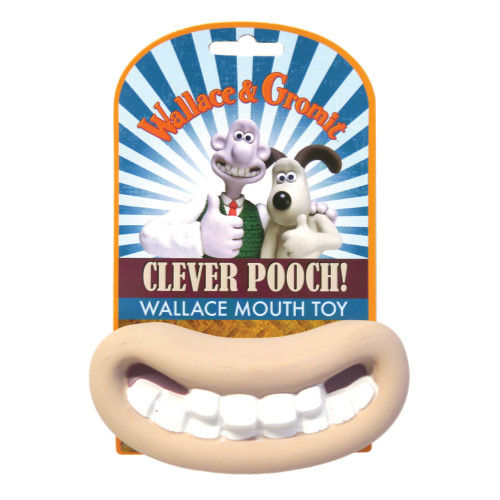 Wallace & Gromit Squeaky Latex Big Mouth Dog Toy