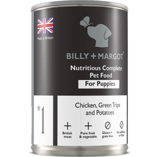 Billy & Margot Chicken & Tripe Complete Puppy Food