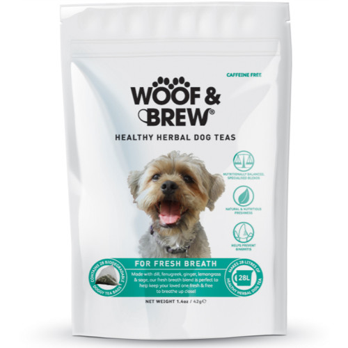Woof & Brew Herbal Dog Tea Fresh Breath
