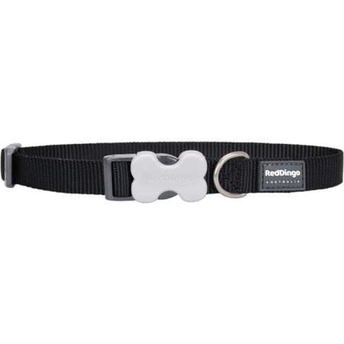 Red Dingo Dog Collar Classic Black
