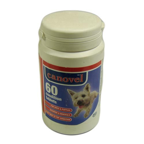 Canovel Condition Vitamin Mineral Tablets x 60