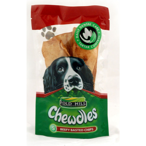 Fold Hill Chewdles Chips Dog Chews