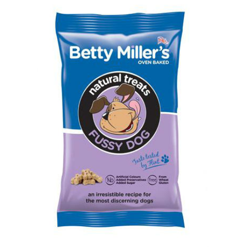 Betty Millers Gluten Free Dog Treats 100g Fussy Dog