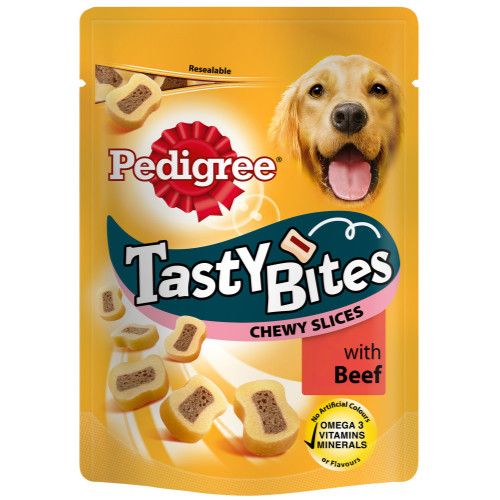 Pedigree Pouch Tasty Bites Adult Dog Treats