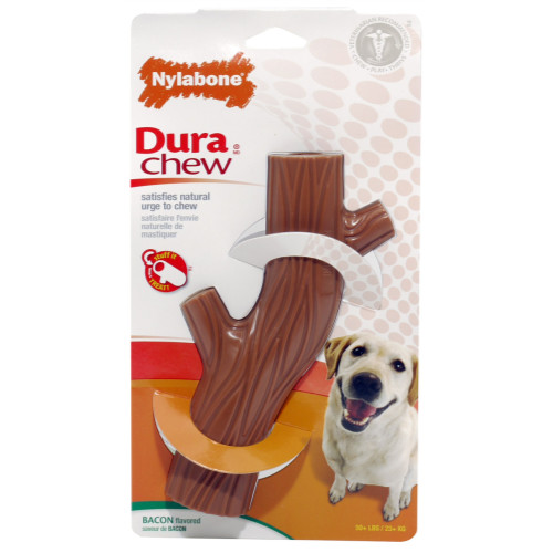 Nylabone Durable Chew Hollow Stick Wolf