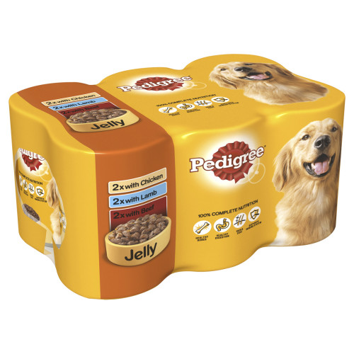 Pedigree Can Meaty Chunks in Jelly Adult Dog Food