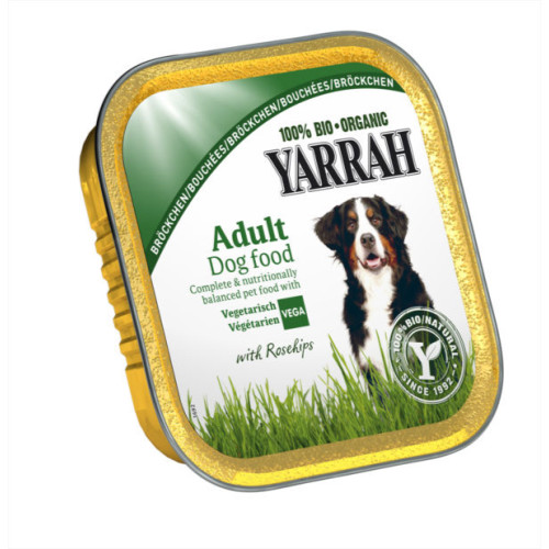 Yarrah Organic Vegetarian with Rose Hips Dog Food