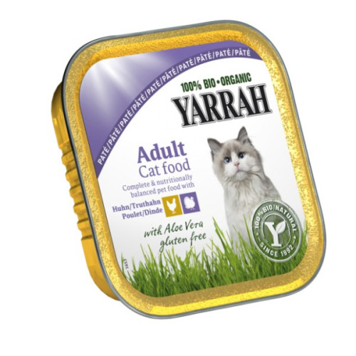 Yarrah Organic Chicken Turkey & Aloe Vera Cat Food