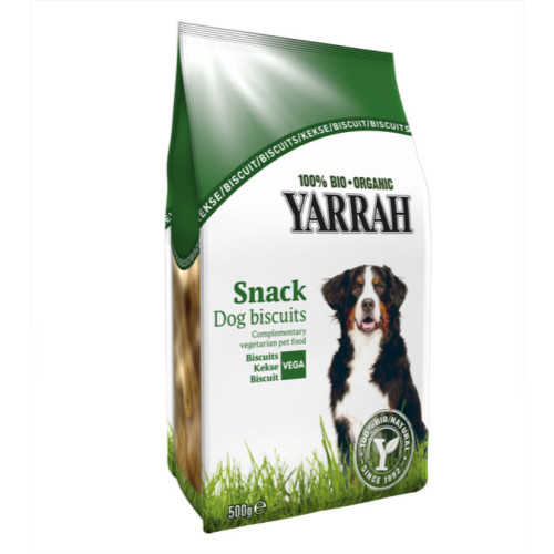 Yarrah Organic Vegetarian Dog Biscuits