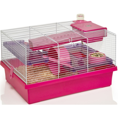 Buy cheap pink hamster cage compare pets prices for best for Cheap c c cages