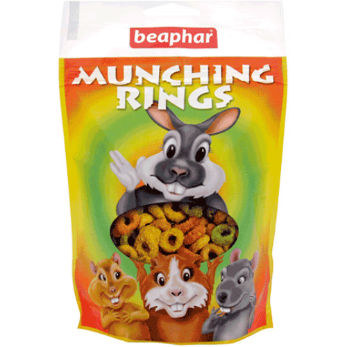 Beaphar Small Animal Munching Rings Treats