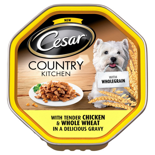 Cesar Tray Country Kitchen Wholegrain Chicken Adult Dog Food