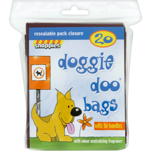 Snappies Doggie Doo Poop Bags