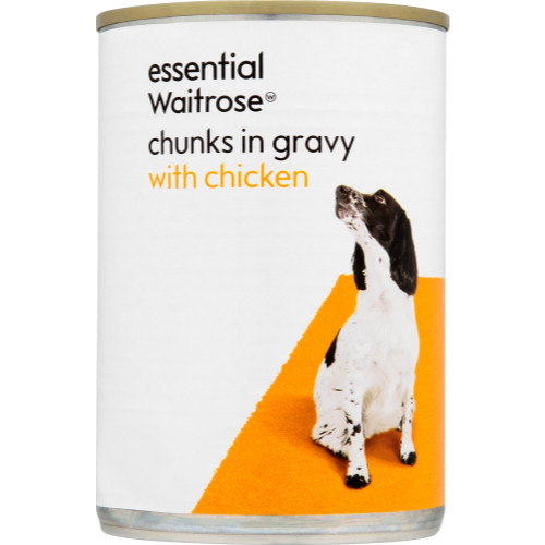 essential Waitrose Chunks in Gravy Chicken Adult Dog Food