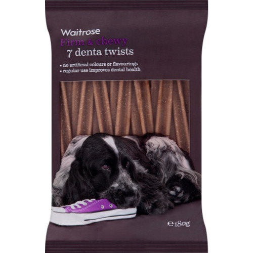 Waitrose Denta Twists 7s Dog Treats