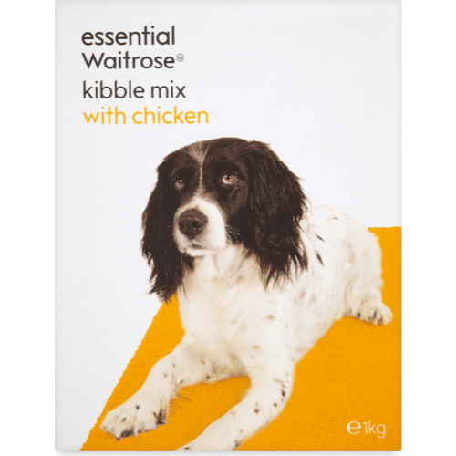 essential Waitrose Kibble Mix with Chicken Adult Dog Food