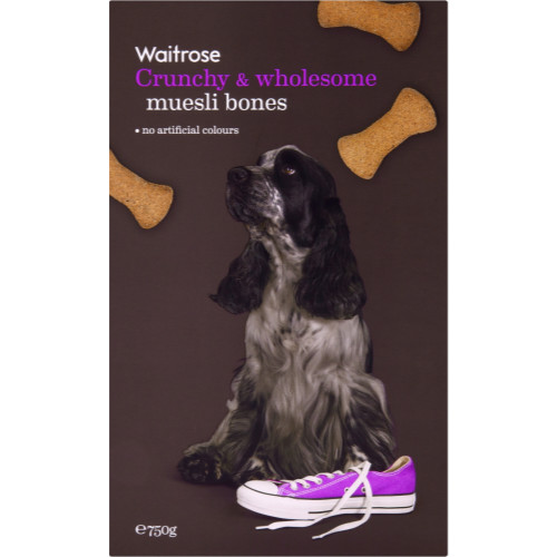 Waitrose Special Recipe Muesli Biscuit Bones Dog Treats