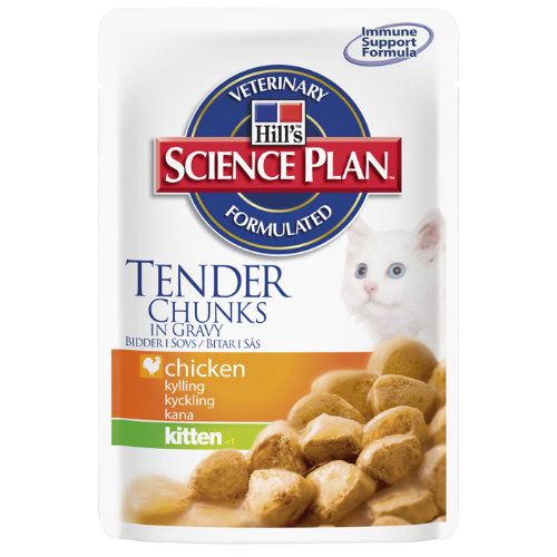 Hills Science Plan Kitten Pouch 85g x 12  Chicken