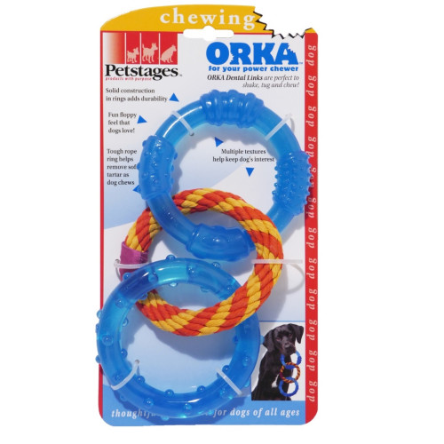 Petstages Orka Triple Links Dog Toy