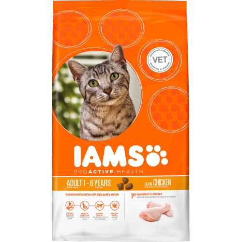 IAMS Chicken Adult Cat Food 300g